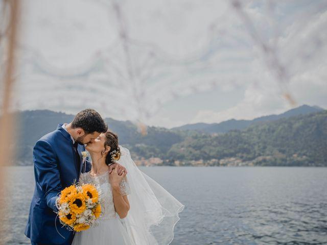 Il matrimonio di Enrico e Giulia a Prato Sesia, Novara 80
