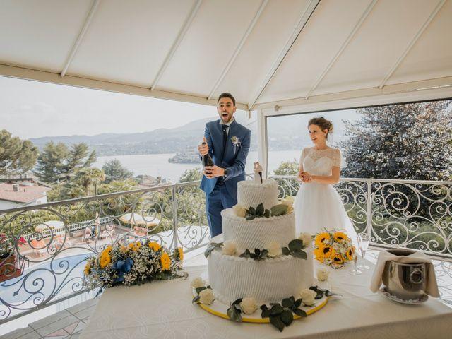 Il matrimonio di Enrico e Giulia a Prato Sesia, Novara 93