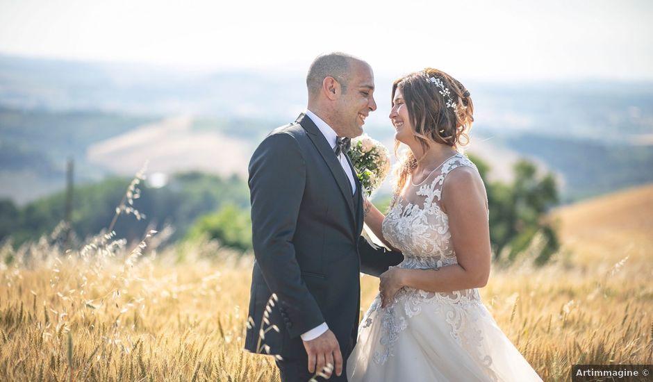 Il matrimonio di Enrico e Monia a Bertinoro, Forlì-Cesena