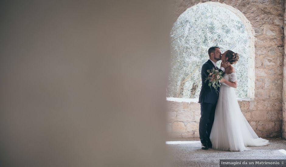 Il matrimonio di Carlo e Simona a Priverno, Latina