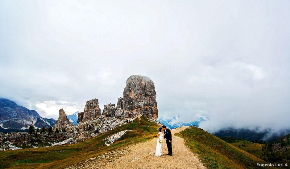 Il matrimonio di Alessandro e Amy a Cortina d'Ampezzo, Belluno