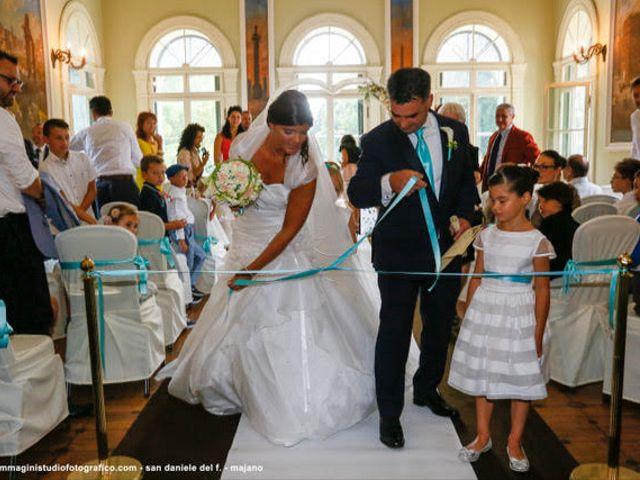 Il matrimonio di Zaninello ivano e Fabiani barbara  a Pradamano, Udine 1