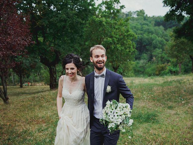le nozze di Silvia e Morten
