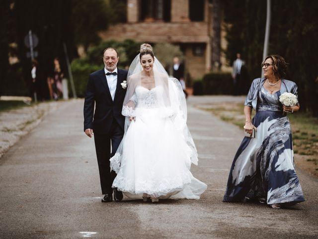 Il matrimonio di Jonathan e Giulia a Chiusdino, Siena 7