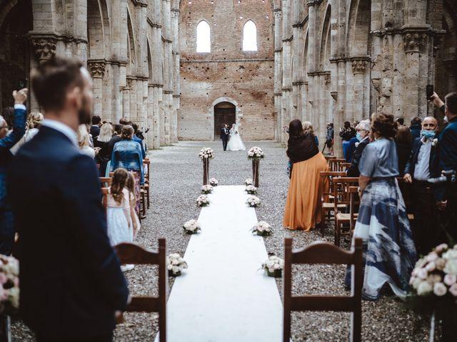 Il matrimonio di Jonathan e Giulia a Chiusdino, Siena 9