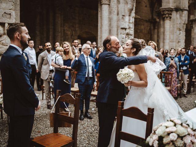 Il matrimonio di Jonathan e Giulia a Chiusdino, Siena 11