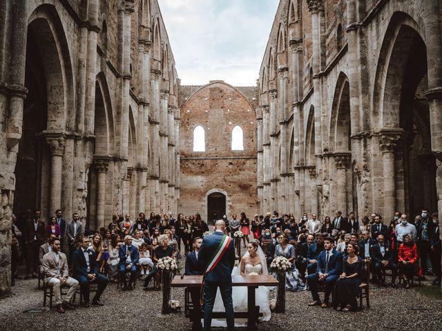 Il matrimonio di Jonathan e Giulia a Chiusdino, Siena 13
