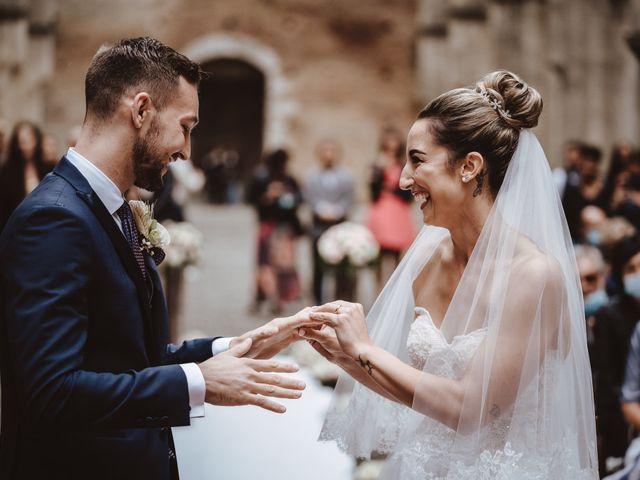 Il matrimonio di Jonathan e Giulia a Chiusdino, Siena 15