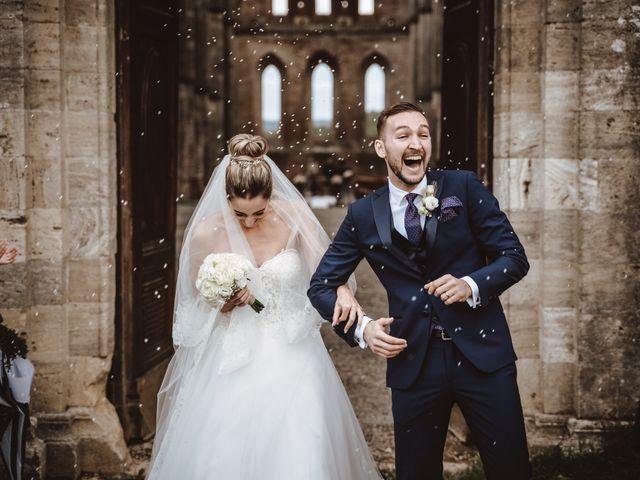 Il matrimonio di Jonathan e Giulia a Chiusdino, Siena 18