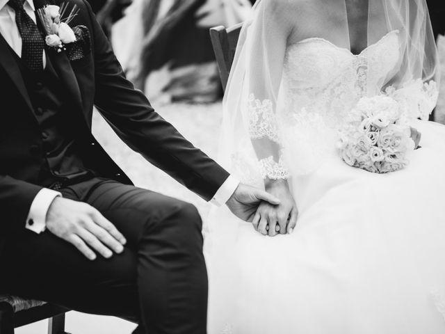 Il matrimonio di Jonathan e Giulia a Chiusdino, Siena 20
