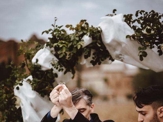 Il matrimonio di Jonathan e Giulia a Chiusdino, Siena 21