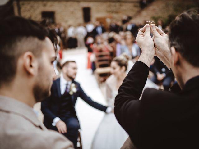Il matrimonio di Jonathan e Giulia a Chiusdino, Siena 22