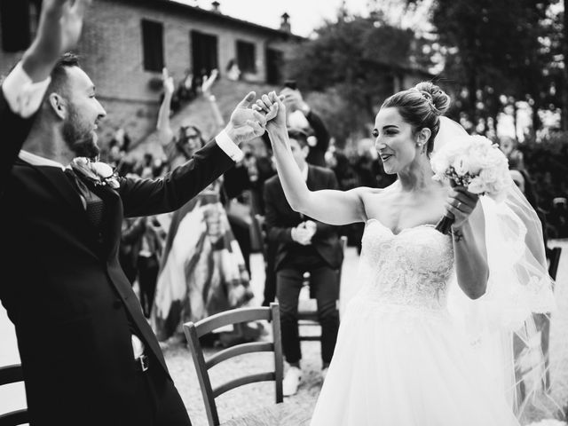 Il matrimonio di Jonathan e Giulia a Chiusdino, Siena 2