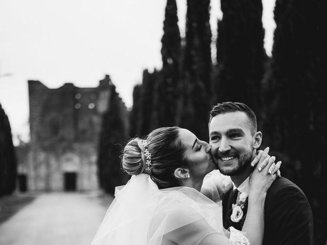 Il matrimonio di Jonathan e Giulia a Chiusdino, Siena 31