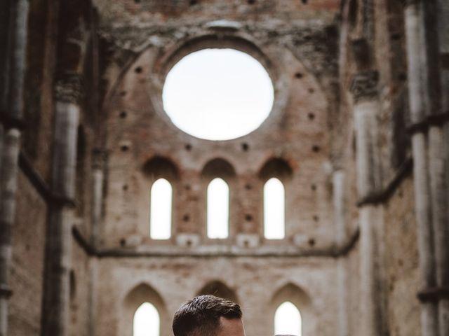 Il matrimonio di Jonathan e Giulia a Chiusdino, Siena 32