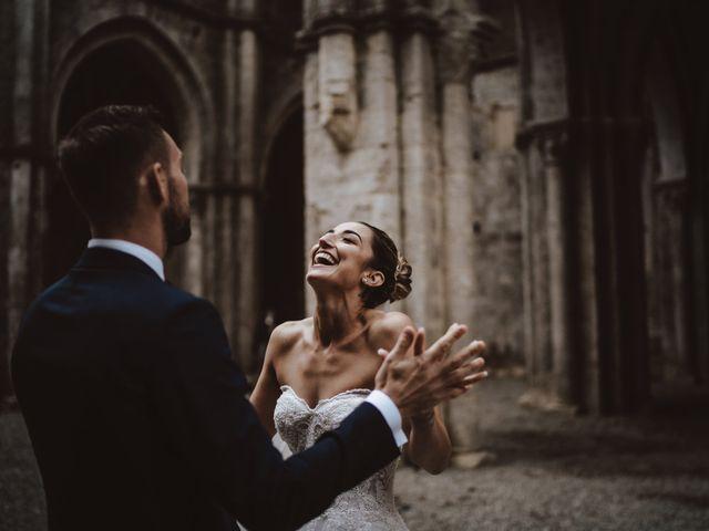 Il matrimonio di Jonathan e Giulia a Chiusdino, Siena 33