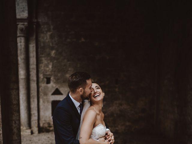 Il matrimonio di Jonathan e Giulia a Chiusdino, Siena 34