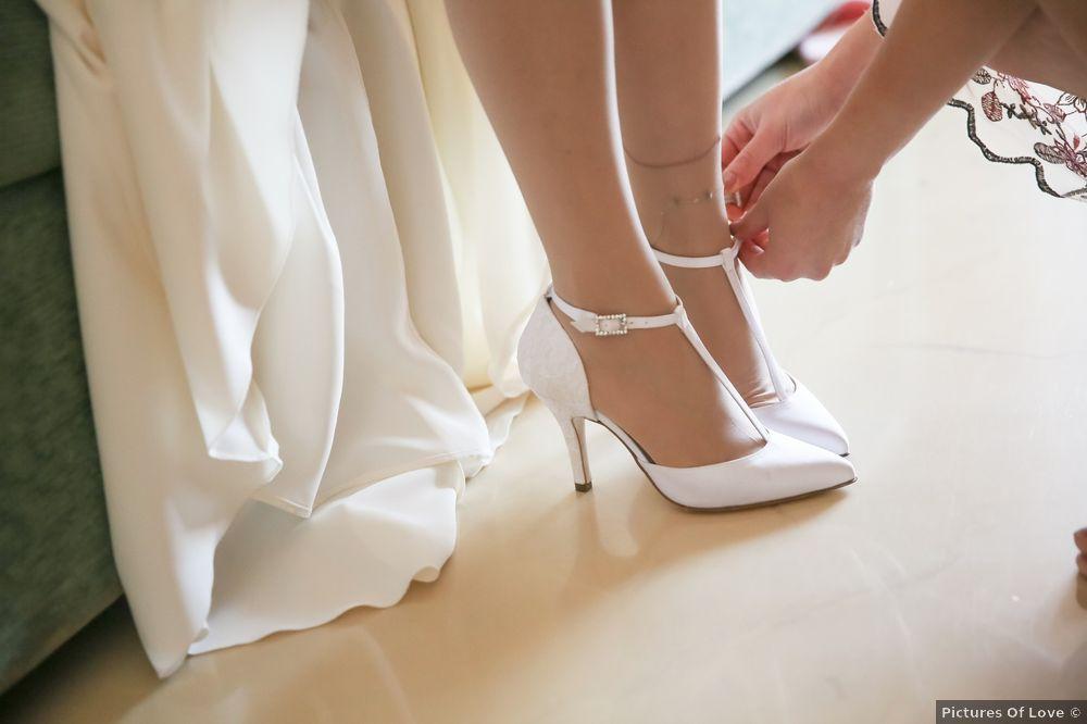 Scarpe da sposa con cinturino? 1