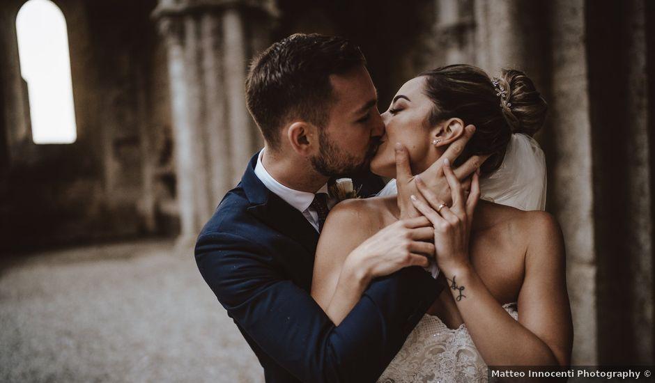 Il matrimonio di Jonathan e Giulia a Chiusdino, Siena