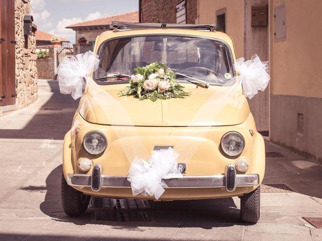 Il matrimonio di Tanya  e Andrea  a Civitella in Val di Chiana, Arezzo 4
