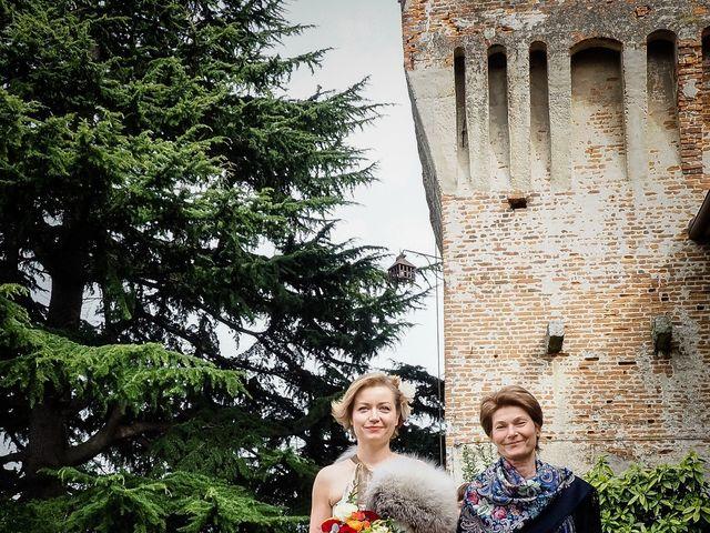 Il matrimonio di Alberto e Ekaterina a Moncrivello, Vercelli 30
