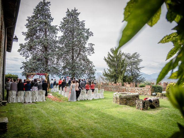 Il matrimonio di Alberto e Ekaterina a Moncrivello, Vercelli 32