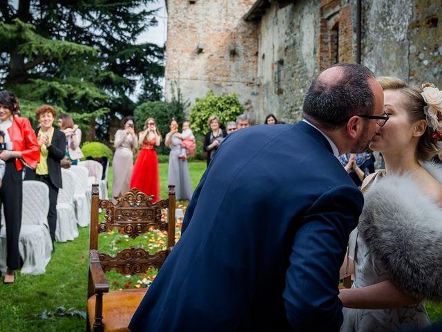 Il matrimonio di Alberto e Ekaterina a Moncrivello, Vercelli 38