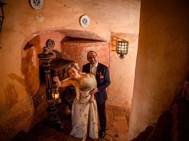 Il matrimonio di Alberto e Ekaterina a Moncrivello, Vercelli 53