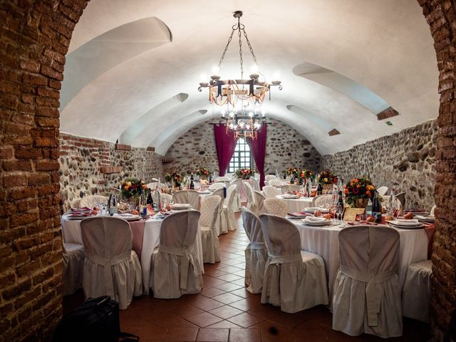 Il matrimonio di Alberto e Ekaterina a Moncrivello, Vercelli 61
