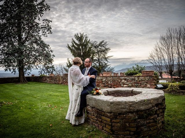 Il matrimonio di Alberto e Ekaterina a Moncrivello, Vercelli 62