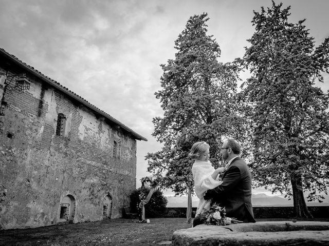 Il matrimonio di Alberto e Ekaterina a Moncrivello, Vercelli 63