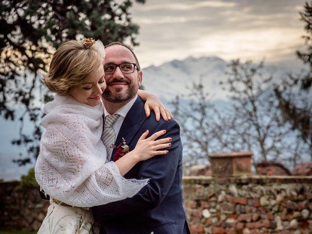 Il matrimonio di Alberto e Ekaterina a Moncrivello, Vercelli 64