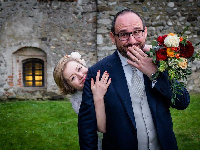 Il matrimonio di Alberto e Ekaterina a Moncrivello, Vercelli 65