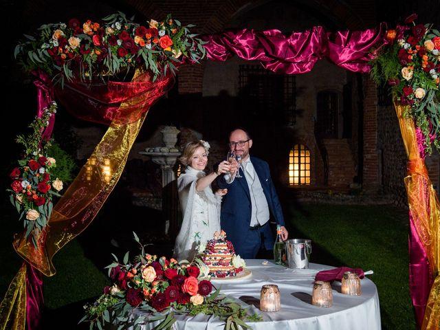 Il matrimonio di Alberto e Ekaterina a Moncrivello, Vercelli 69