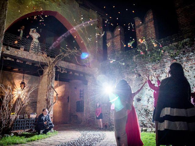 Il matrimonio di Alberto e Ekaterina a Moncrivello, Vercelli 71
