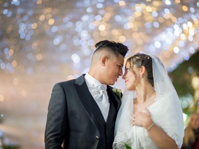 le nozze di Jennifer e Yandiel