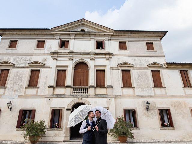 Il matrimonio di Enrico e Francesca a Godega di Sant'Urbano, Treviso 23