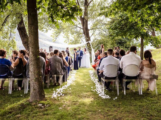 Il matrimonio di Giorgio e Simona a Mergozzo, Verbania 22