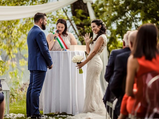 Il matrimonio di Giorgio e Simona a Mergozzo, Verbania 24