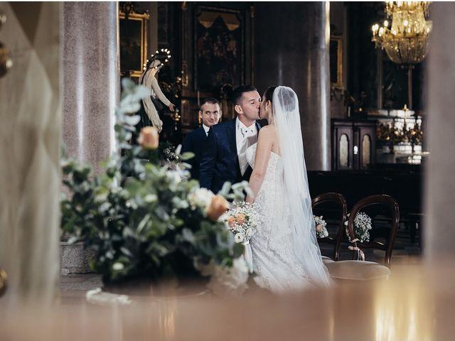 Il matrimonio di Massimiliano e Federica  a Orta San Giulio, Novara 24