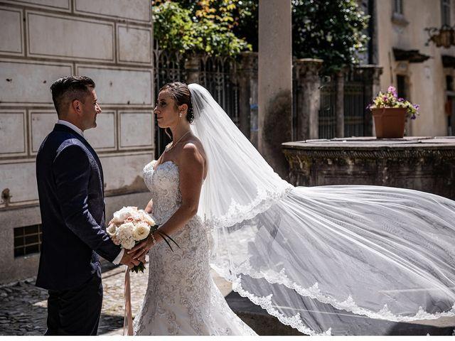 Il matrimonio di Massimiliano e Federica  a Orta San Giulio, Novara 38