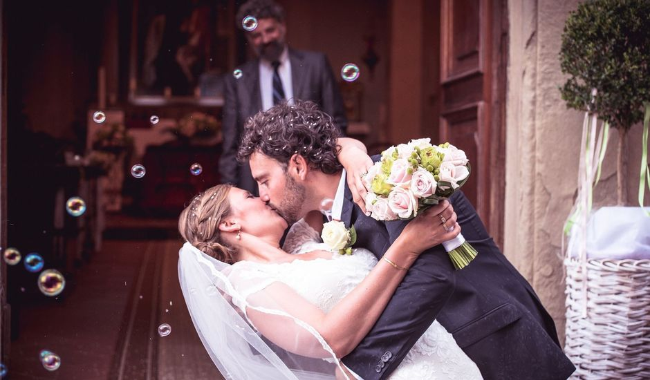 Il matrimonio di Tanya  e Andrea  a Civitella in Val di Chiana, Arezzo
