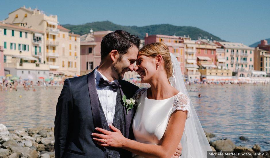 Il matrimonio di Christina e Alessandro a Sestri Levante, Genova