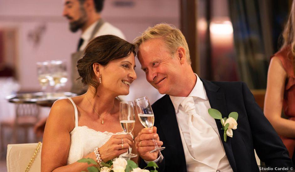 Il matrimonio di Gunner e Eli a Manziana, Roma