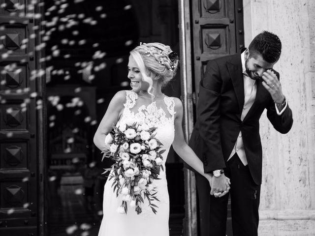 Le nozze di Giorgia e Filippo