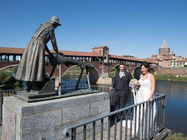Il matrimonio di Marco e Ilaria a Cura Carpignano, Pavia 21