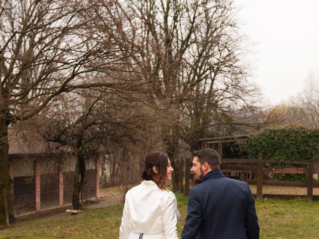 Il matrimonio di Fabio e Silvia a Cantù, Como 33