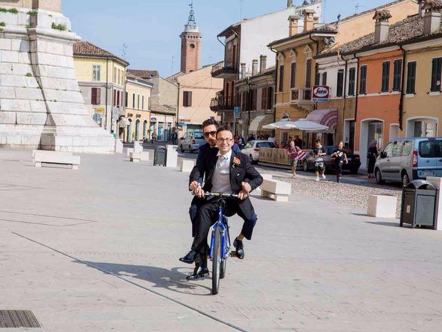 Il matrimonio di Gianluca e Sara a Comacchio, Ferrara 14