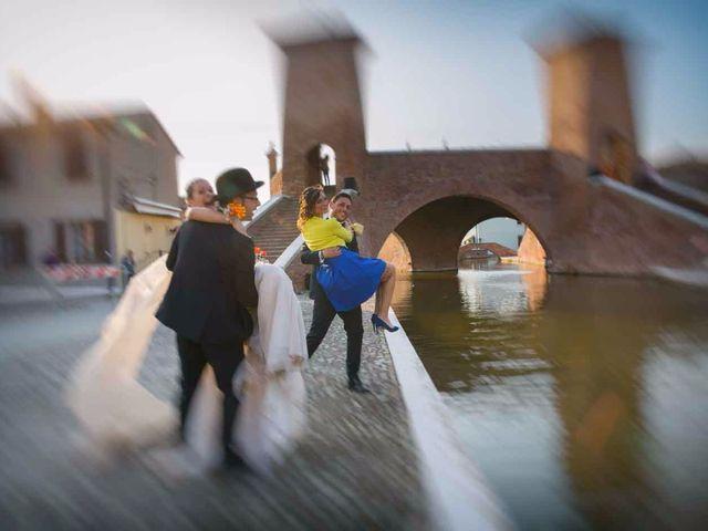 Il matrimonio di Gianluca e Sara a Comacchio, Ferrara 42
