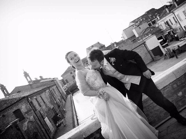 Il matrimonio di Gianluca e Sara a Comacchio, Ferrara 45